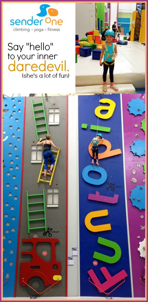 This Almost 40 Mom Repelled Off a Wall