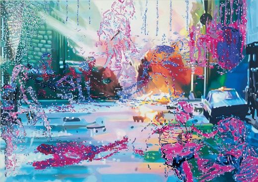 Corinne wasmuht, Gewalt, 2001