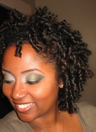 Transitioning Natural Hairstyle - Flexi rod set  #transitioninghairstyle #naturalhair