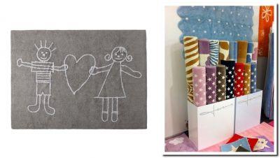 Lorena Canals, alfombras infantiles lavables en casa y con valor social.