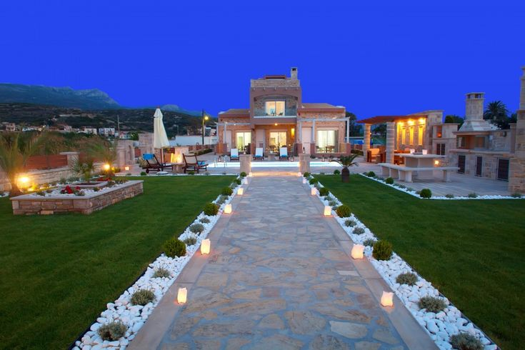 Holiday Villa in Lasithi, Crete - Blue Horizon Seafront Complex featuring luxury and comfort