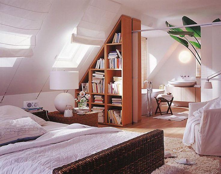 Schlafzimmer einrichten und gestalten in 2019 | Dachboden ...