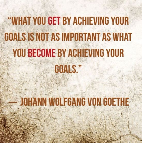 how to get your goal in life