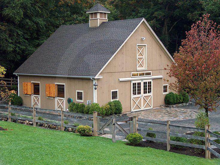 A perfect 4 Stall Barn ~ Circle B Barn Company