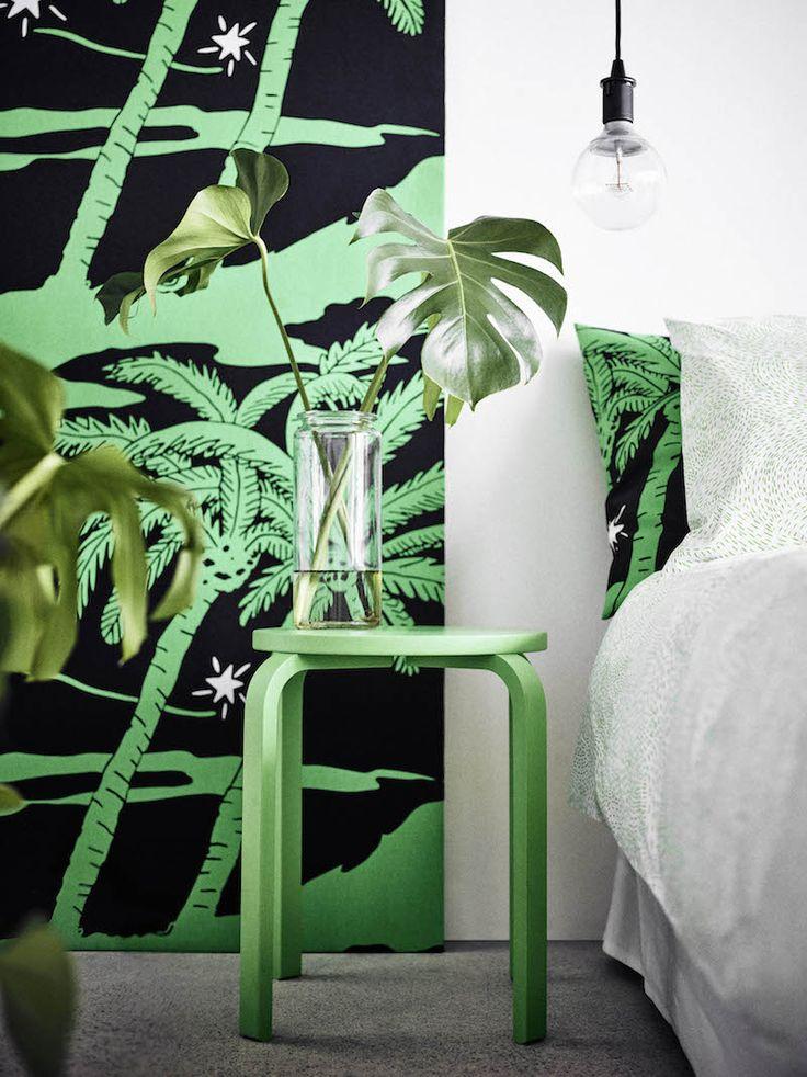 IKEA Avsiktlig limited collectie Djungel patroon beddegoed #Ikea