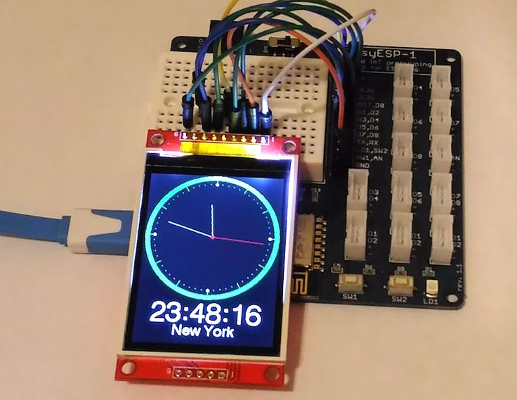 The National Institute of Standards and Technology (NIST) provides official time in the United States. NIST disseminates the time using several methods, including radio broadcasting over short-wave and long-wave frequencies, telephone dial-in services (ACTS), and Network Time Service (NTS) over the internet. This tutorial describes how to build an ESP8266-based internet clock that uses NIST's NTS service to retrieve accurate time information. The time is displayed on a colorful TFT LCD…