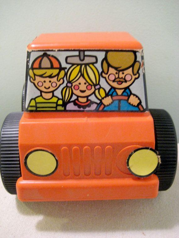 Vintage Tupperware Pick Em Up Truck on Etsy, $8.50