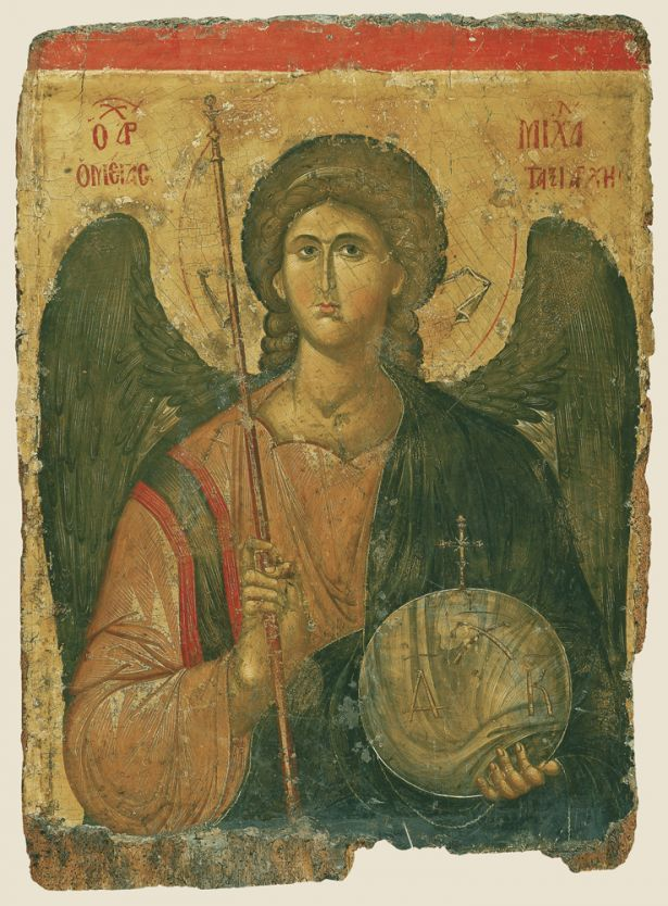 Icon of the Archangel Michael, 14th c.; Constantinople | Byzantine and Christian Museum, Athens