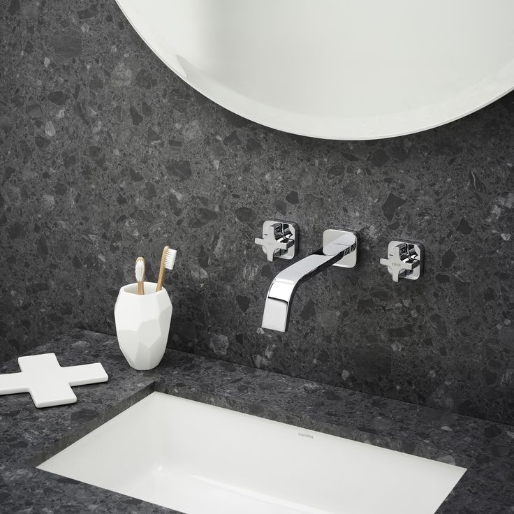 104 best Black, White & Grey images on Pinterest | Bathroom, Basin ...
