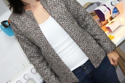 Chaqueta estilo chanel. Chanel jacket