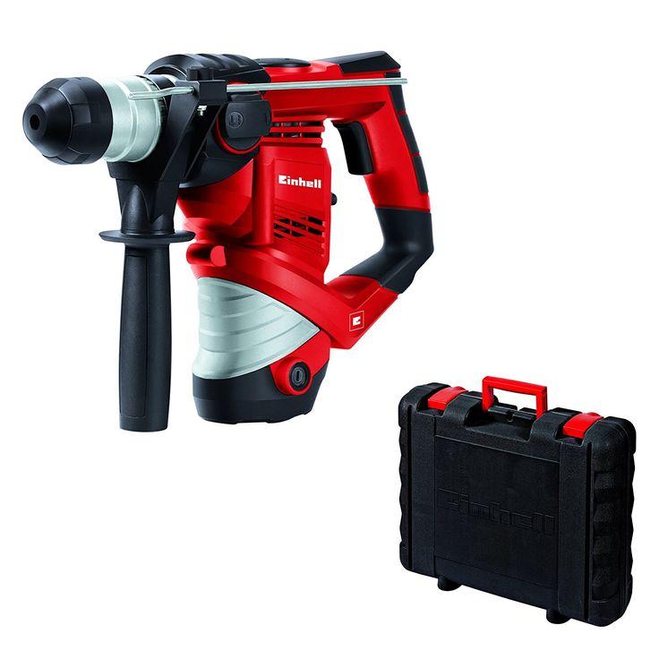 Für Heimwerker! Bei amazon bekommt ihr heute den Einhell Bohrhammer TC-RH 900 für 49,99€ - der geizhals.at Vergleichspreis liegt bei 61,30€.   #Amazon #Bohrhammer #Einhell #Werkzeug