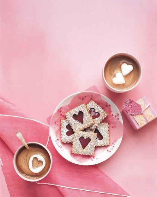 Pecan Linzer Cookies with Cherry Filling Recipe