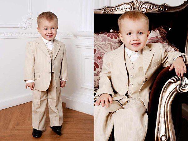 Нарядные костюмы для малышей мальчиков и новорожденных
