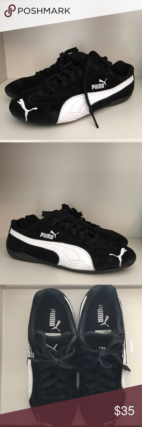 very puma suede black