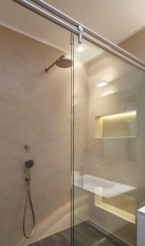 Die besten 25+ Fugenloses bad Ideen auf Pinterest Lichtbeton - badezimmer ohne fenster