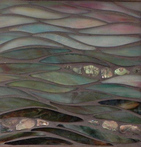 Beachscape by Jean Loney   Maplestone Gallery  Contemporary Mosaic Art