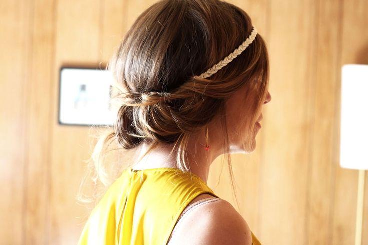 Tuto - Comment se coiffer avec un headband ; )