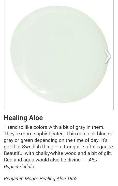 Benjamin Moore Healing Aloe 1562