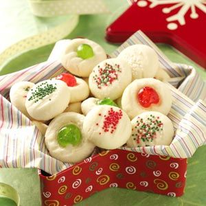Whipped Shortbread Cookies for Christmas