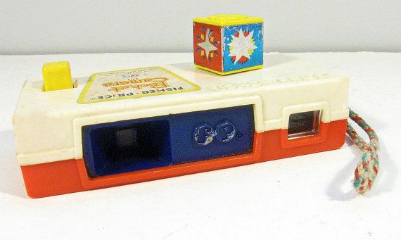 """Fisher Price Vintage Toys 1970 