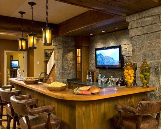 295 best images about Basements Man Caves Rec Rooms on