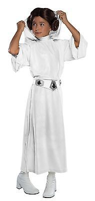 Kids Costumes: Rubies Star Wars Princess Leia Girls Costume Child White Gown Wig Sm-Md-Lg -> BUY IT NOW ONLY: $36.99 on eBay!