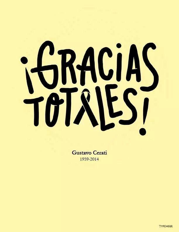 Gracias Totales | Gustavo Cerati cumpliría hoy 56 años | Por Que No Puedo Ser Del Jet Set?