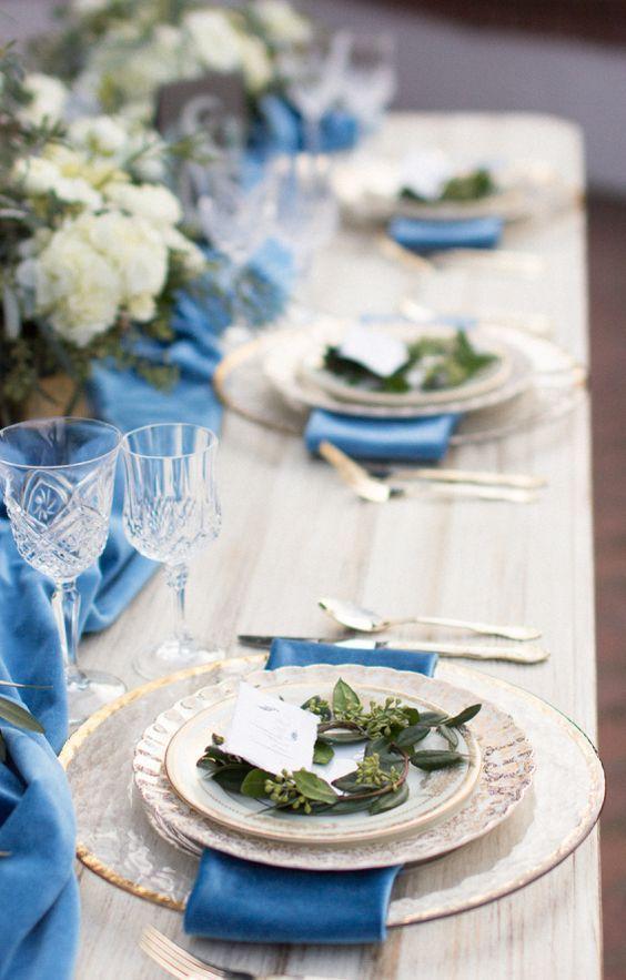 Wedding reception centerpiece idea; Featured Photographer: Samantha Kirk Photography
