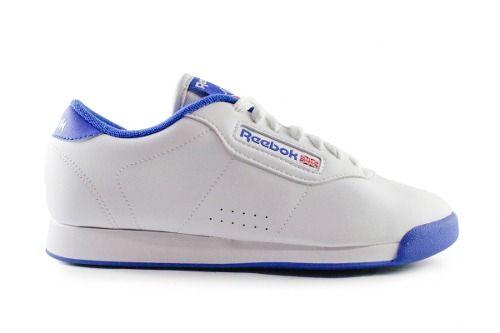 Tenis Reebok Princess - Blanco Con Azul V68529