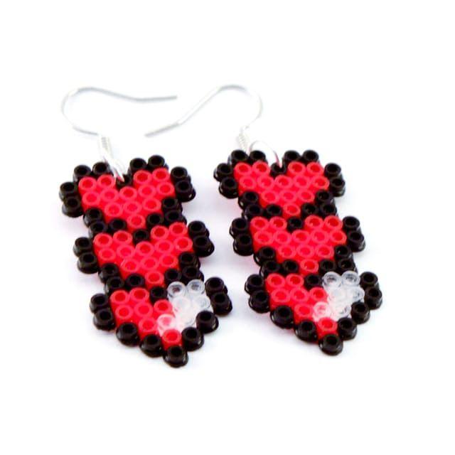 Hearts örhängen