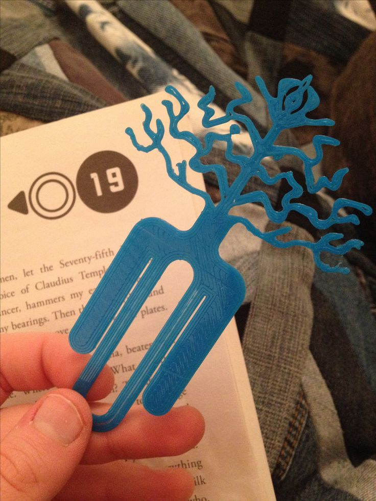 9 Best 3d Printed Bookmarks Images On Pinterest Book