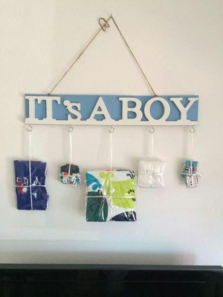 Cadeau bij geboorte van een jongen ( van de action)