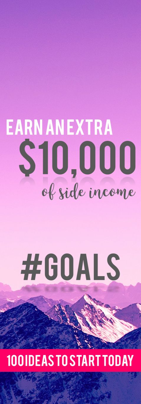 Awesome list of ways to make extra money- I can't wait to try some of these out! Who's with me?? Excited to finally earn some extra money this year :)