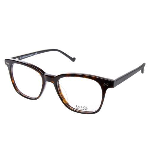Lozza VL4111 Men's Glasses - Havana