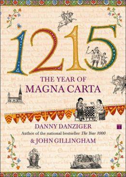 Week 4: 1215: The Year of Magna Carta (book)