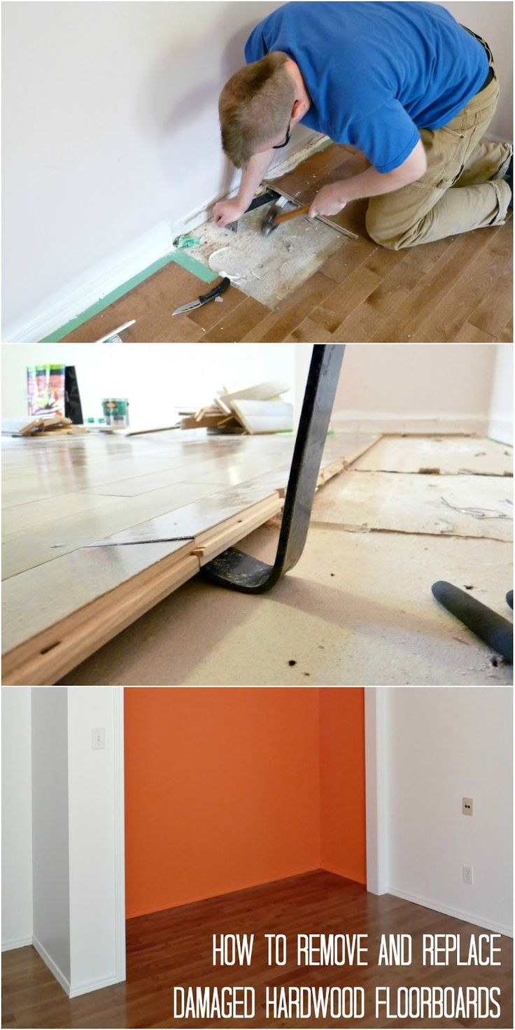 How to Replace Damaged Hardwood Floorboards Dans le