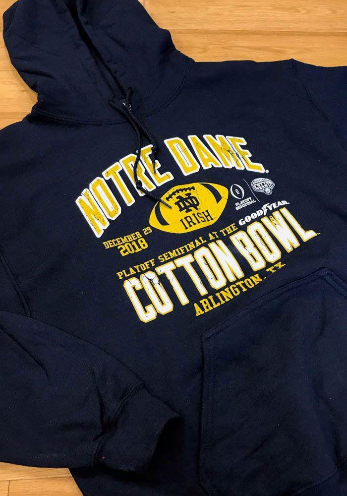 Notre Dame Hoodie Sweatshirt Bowl Bound Size and 50 similar
