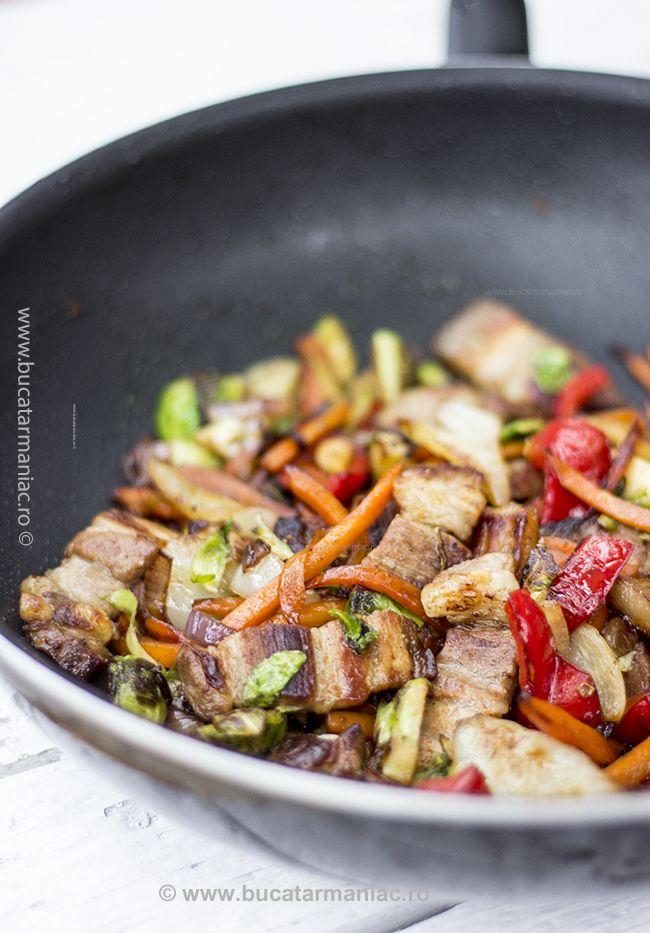 bucatar maniac: Legume cu piept de porc in stil chinezesc