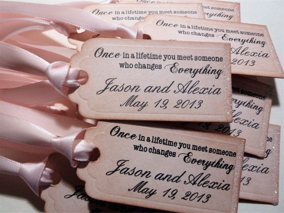 Wedding and Shower Favor Tags Vintage Style with Sparkle - Set of 10 on Etsy, £10.47