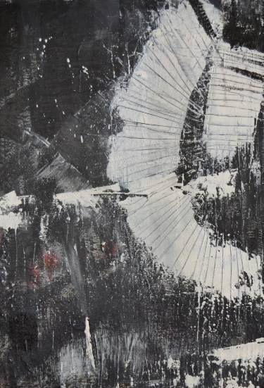 "Saatchi Art Artist Lee Clement; Painting, ""Industrial Abstraction 5"" #art"