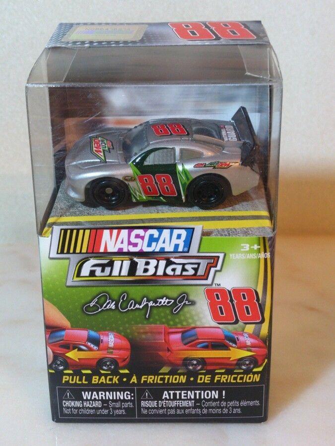 Nascar Full Blast. Dale Earnhardt jr. Mini. Mtn Dew New in package 3+