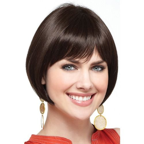 Cory in Expresso. Dark dramatic beauty with a soft fringe. Why not have a bit of fun and change it to a short blunt fringe for an all over dramatic style? Or try it in one of our many different colours?  Melbourne, ships Australia wide.