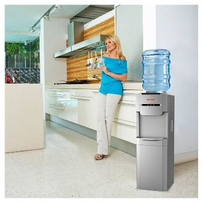 Honeywell Freestanding Top-Loading Water Dispenser Silver - HWBAP1073S