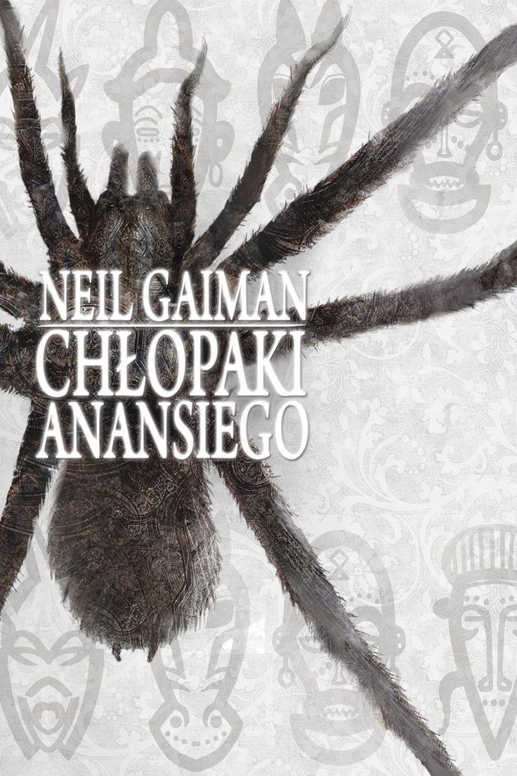 Chłopaki Anansiego - Neil Gaiman - TA okładka