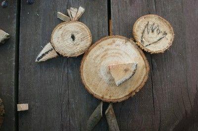 Ukladanki z drewna dla dzieci.