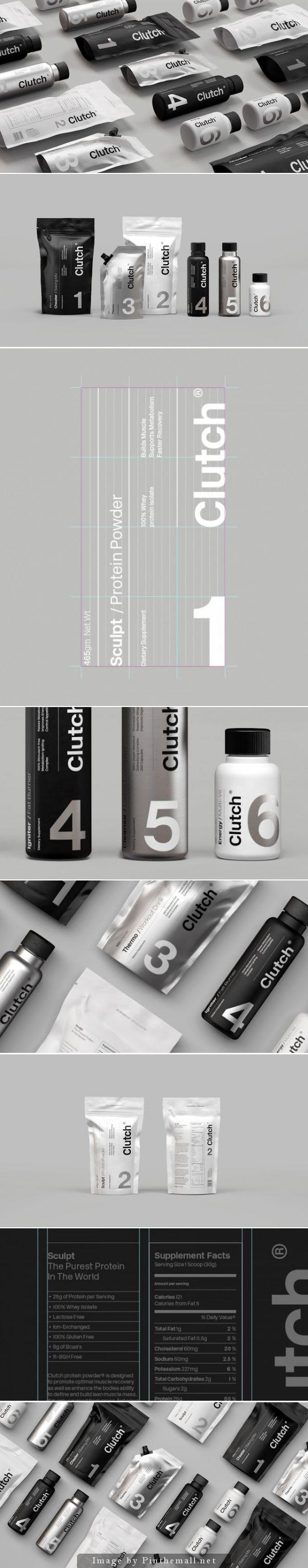 Clutch Bodyshop, Creative Agency: Socio Design - http://www.packagingoftheworld.com/2014/10/clutch-bodyshop.html
