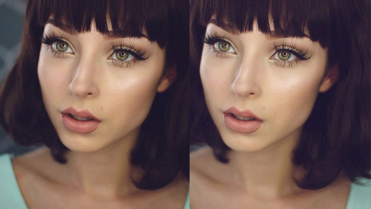 EVERYDAY MAKEUP TUTORIAL W/ DRAMATIC LASHES