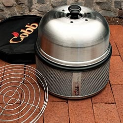 The Cobb Premier Stainless Steel Grill is the best portable grill in the world.