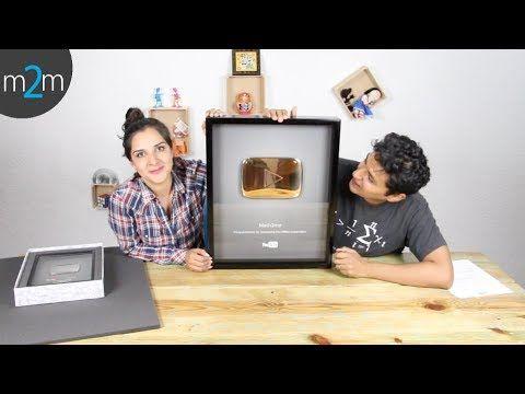 Botón de Oro y Plata de Youtube │ Math2me