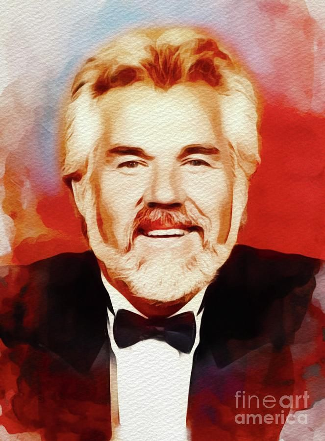 Kenny Rogers Music Legend By Esoterica Art Agency In 2020 Music Legends Music Legend